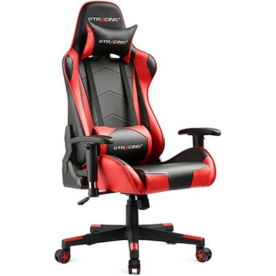 GTRACING Gaming Chair Racing Office Computer Game Chair
