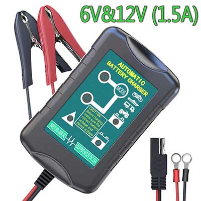 LST Trickle Battery Charger Automatic Maintainer 6V 12V