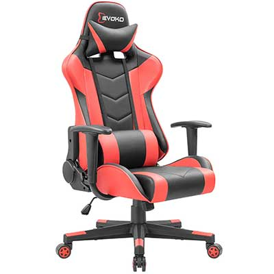 Devoko Ergonomic Gaming Chair Racing Style Chair