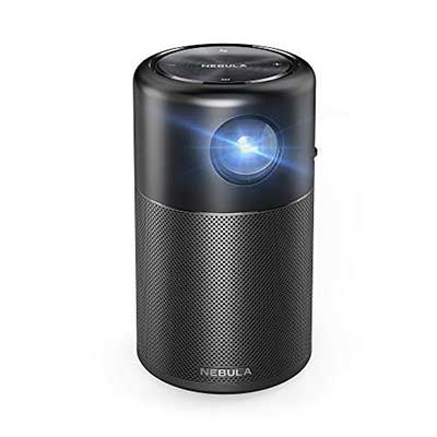 Nebula Capsule, by Anker, Smart Portable Projector