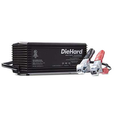 DieHard 71219 6/12V Shelf Smart Battery Charger