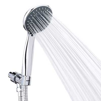 Handheld Shower Head High Pressure 5 Spray Setting Massage Spa