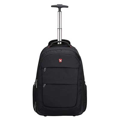 OIWAS Rolling Backpack with Wheels 20 Inch