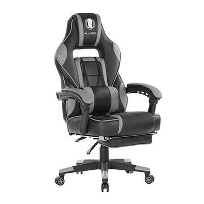 KILLABEE Reclining Memory Foam Racing Gaming Chair