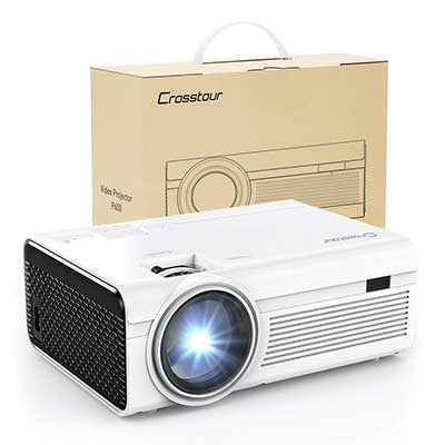Projector, Mini LED Video Projector 1080P Supported