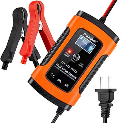 5-Amp 12V Automotive Smart Battery Charger/Maintainer
