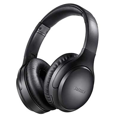 Active Noise Cancelling Headphones, Boltune Bluetooth 5.0