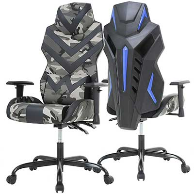 Racing Style PU Gaming Chair Ergonomic Swivel Rolling Chair Computer Office Chair