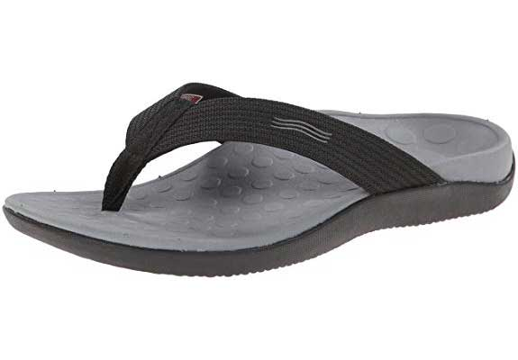 Vionic Unisex Wave Toe-Post Sandal with Orthotic Arch Support