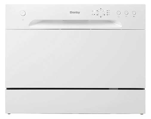 New Model Danby DDW621WDB Countertop Dishwasher, White