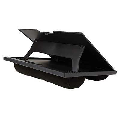 Mind Reader LTADJUST-BLK Adjustable Portable 8-Position Lap Top Desk