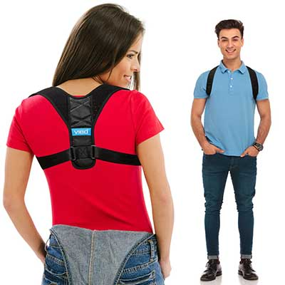 Posture Corrector Comfortable Upper Back Brace Clavicle Support Device