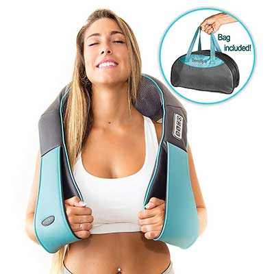 Shiatsu Back Shoulder and Neck Massager with Heat