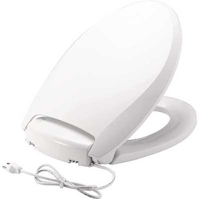 Bemis Radiance Plastic Toilet Seat, Elongated Seat