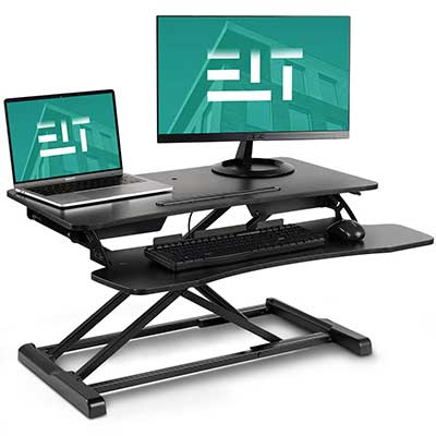 EleTab Standing Desk Converter Sit Stand Desk