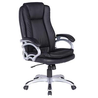 LCH High-Back Office Chair with Adjustable Reclining Angle