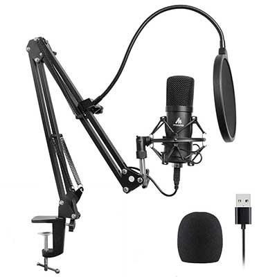 USB Microphone Kit 192KHZ/24BIT Plug & Play