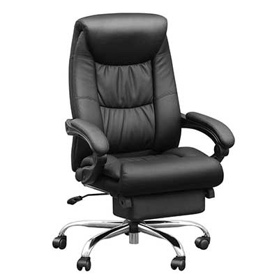 Duramont Reclining Office Chair with Lumbar Support
