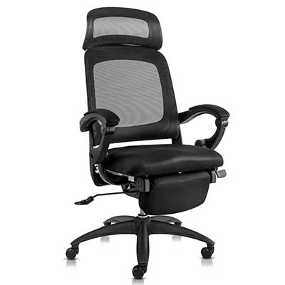 MD Furniture Reclining Office Chair High Back Ergonomic Office Chair