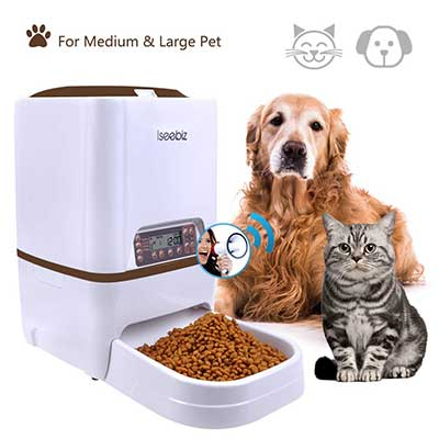 Automatic Pet Feeder, Dogs Cats Food Dispenser