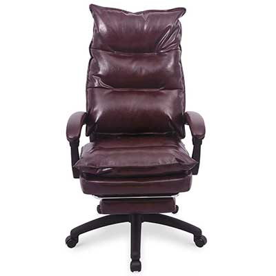 PU Leather Memory Foam Office Chair