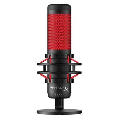 Hyper X QuadCast – USB Condenser Gaming Microphone