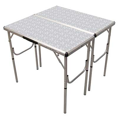 Coleman Pack-Away 4-in-1 Adjustable Height Folding Table