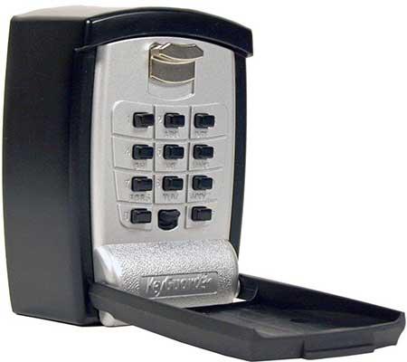 KeyGuard Punch Button Key Storage Wall Mount Lock Box