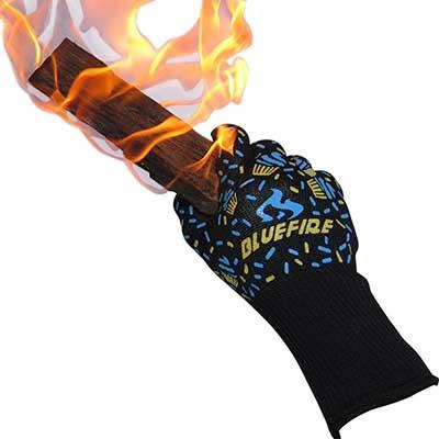 BlueFire Pro Oven Gloves, BBQ Gloves