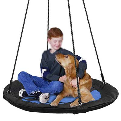 "SUPER DEAL 40"" Waterproof Saucer Tree Swing"