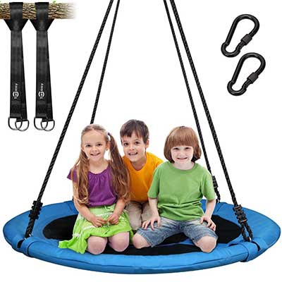 Trekassy 700lb Saucer Tree Swing for Kids Adults