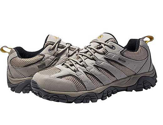 Kwong Wah Men's Waterproof Hiking Shoes