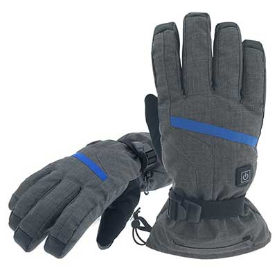 Aroma Season Rechargeable Battery Heated Gloves for Men and Women
