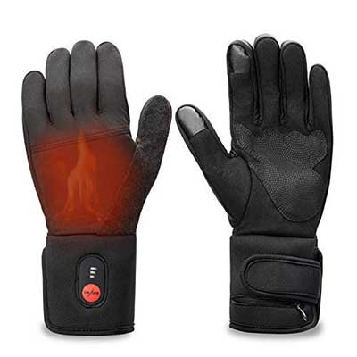 Sun Will Rechargeable Electric Battery Heated Riding Thin Gloves