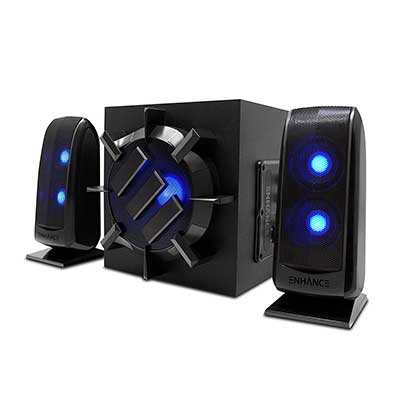 ENHANCE S21 Computer Speakers with Subwoofer
