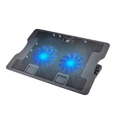 Laptop Cooling Pad, Proslife Portable Ultra Slim Laptop Fan Cooler Pad