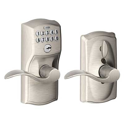 Schlage FE595VCAM619ACC Camelot Keypad Entry