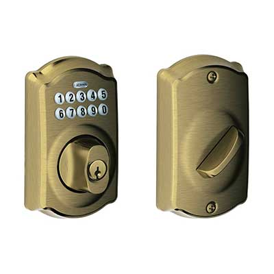 BE365 CAM 609 Camelot Keypad Deadbolt