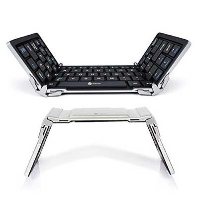 iClever Bluetooth Keyboard, Foldable Wireless Keyboard