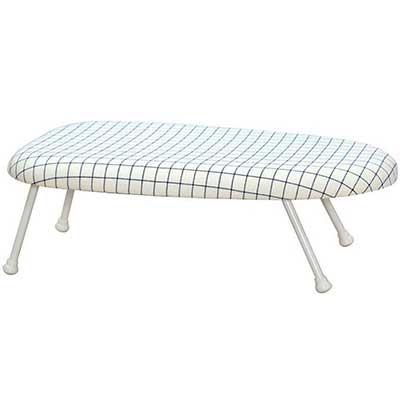 STORAGE MANIAC Tabletop Ironing Board with Folding Legs
