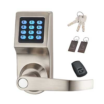 HAIFUN Digital Door Lock, Unlock with Remote Control