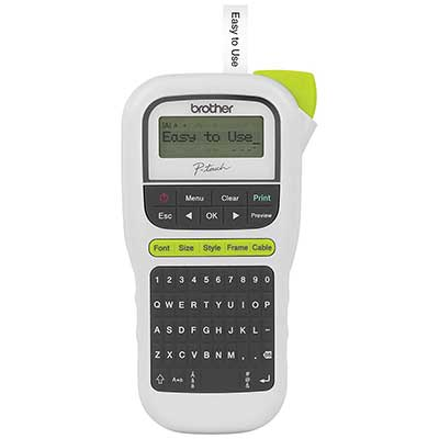 Brother P-touch, PTH110, Easy Portable Label Maker