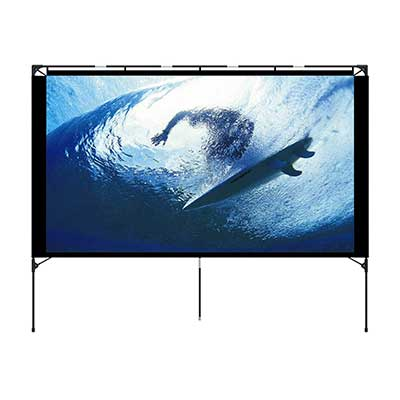 Outdoor Projector Screen – Foldable & Portable by Vamvo