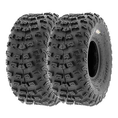SunF 22x10-8 22x10x8 ATV/UTV A/T Knobby Race Replacement Tires
