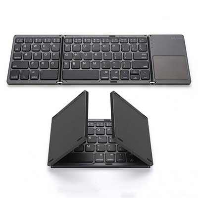 Foldable Bluetooth Keyboard, Jelly Comb Pocket Size