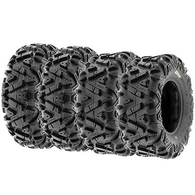 SunF Power. I 25Inch ATV UTV All-Terrain Tires