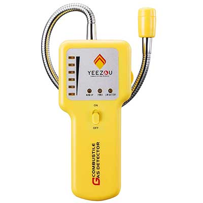 Techamor Y201 Portable Methane Propane Combustible Leak Sniffer Detector
