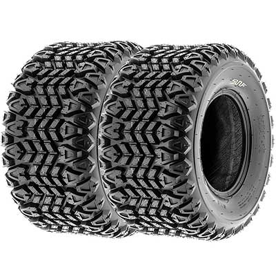 Set of 2 SunF G003 all-Terrain UTV & Golf-Cart Turf Tires
