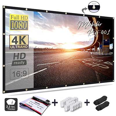 Mdbebbr 120 Inch Projection Screen
