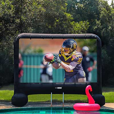 VIVOHOME 14ft Indoor and Outdoor Inflatable Projection Screen